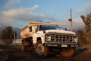 Camion Tolvas de 8 mt3